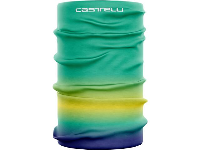 Castelli Light Head Thingy Mujer, verde/amarillo